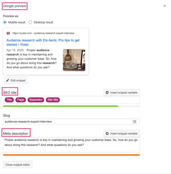 how to write meta description in yoast SEO in WordPress