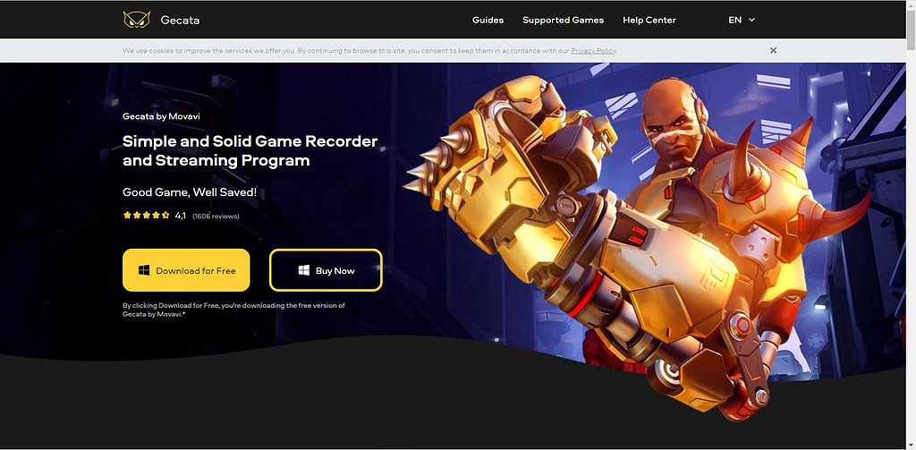 gecata game recording software