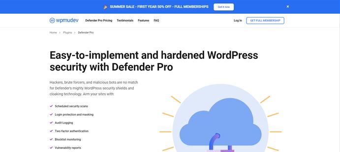defender plugin wordpress