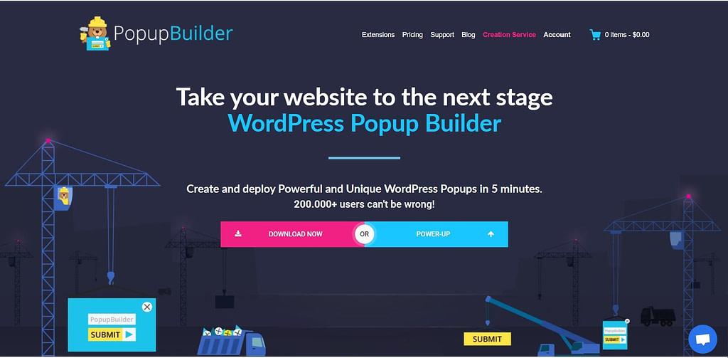 popup builder plugin for wordpress