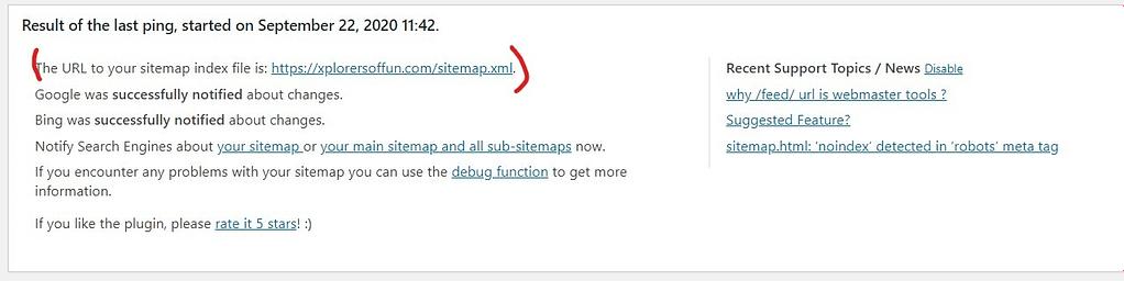 xml sitemap generator in wordpress for seo