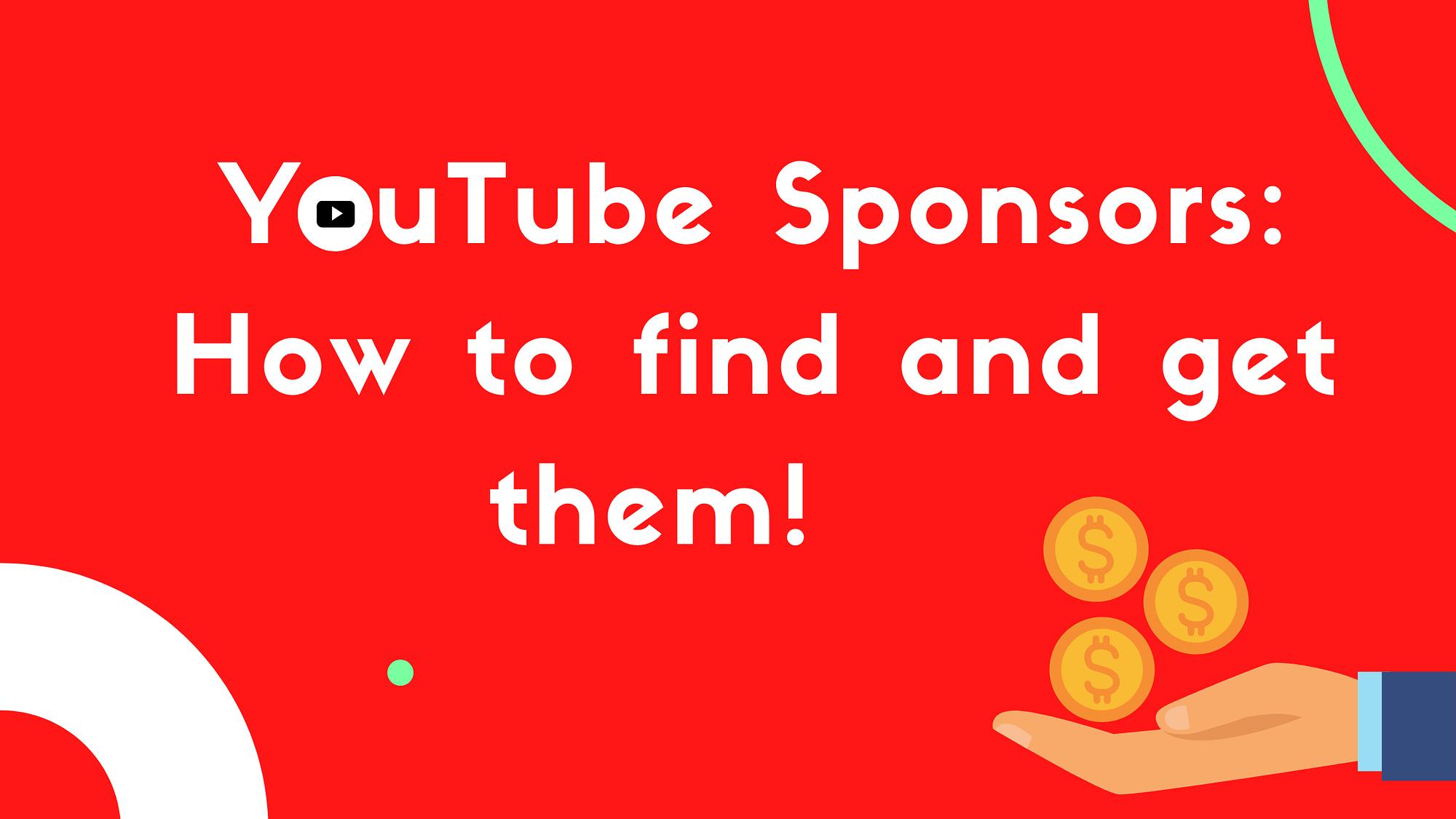 YouTube Sponsors